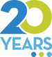 20 Years Logo_color