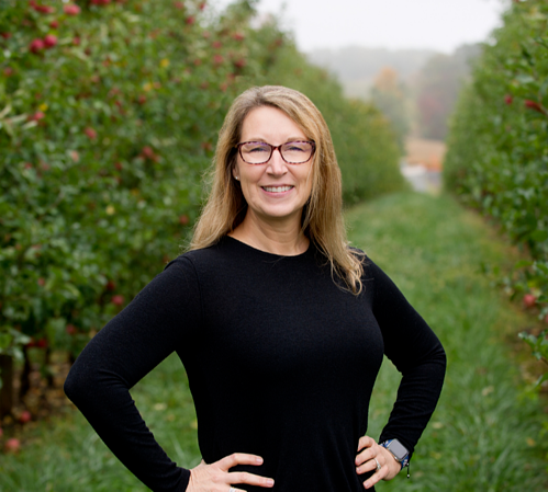 Amy outstanding in her field